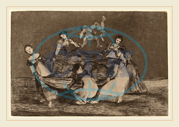 Francisco de Goya, Disparate femenino, Feminine Folly, Spanish, 1746, 1828, 1816, etching, aquatint, Francisco, de, Goya