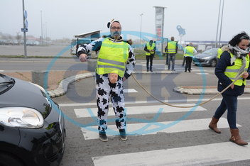 Blocking yellow vests - Loire-Atlantique