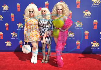 Trixie Mattel,  Katya,  Alyssa Edwards