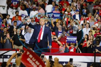 United States President Donald Trump launches his re-election campaign