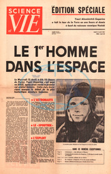 Science et Vie (France) Yuri Gagarin is first man in space