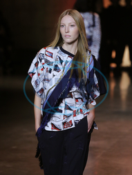 Ella Richards,  Tommy Hilfiger London Fashion Week,  modelka,  přehlídka