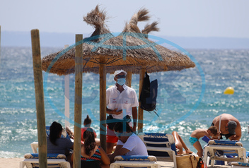 Tourism in Mallorca - Masks required