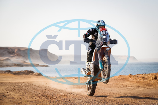 Libor Podmol,  motocyklový závodník,  rallye,  9th stage of the Dakar 2021 between Neom and Neom,  neom