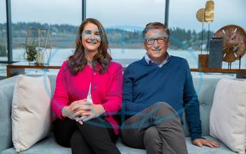 Bill & Melinda Gates Foundation shows that Bill Gate,  žena Melinda,  rozvod