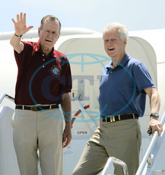 George BUSH,  Bill CLINTON