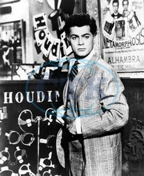 Tony Curtis,  herec,  role