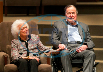 BARBARA BUSHOVÁ,  GEORGE H.W. BUSH