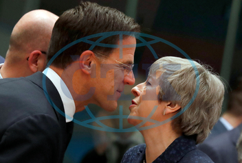 MARK RUTTE,  THERESA MAYOVÁ