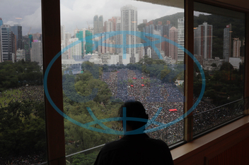 Čína-demonstrace-Hongkong, APTOPIX