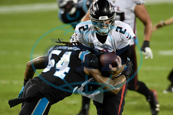 APTOPIX Falcons Panthers Football