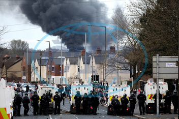 APTOPIX Britain Northern Ireland Unrest